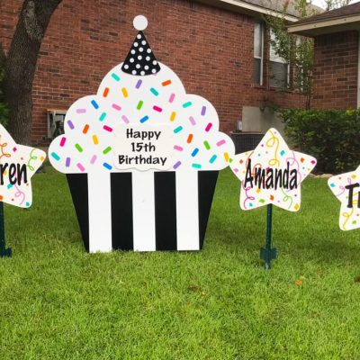 Yard Signs for Birthday