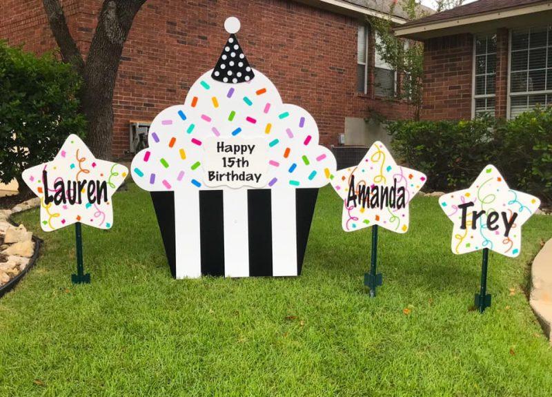 Yard Signs for Birthday