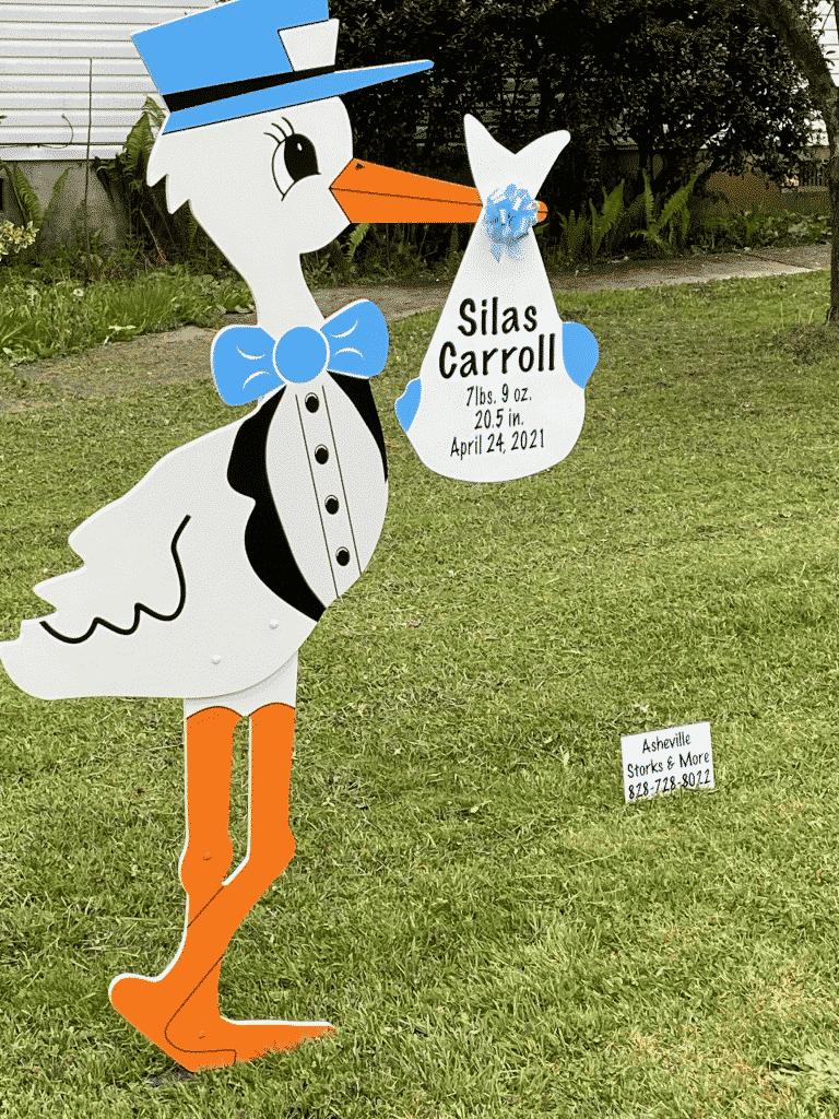 stork sign rental baby stork sugn